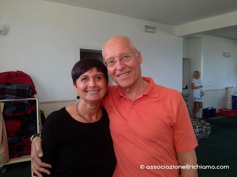 Catia con il Dr. Dahlke