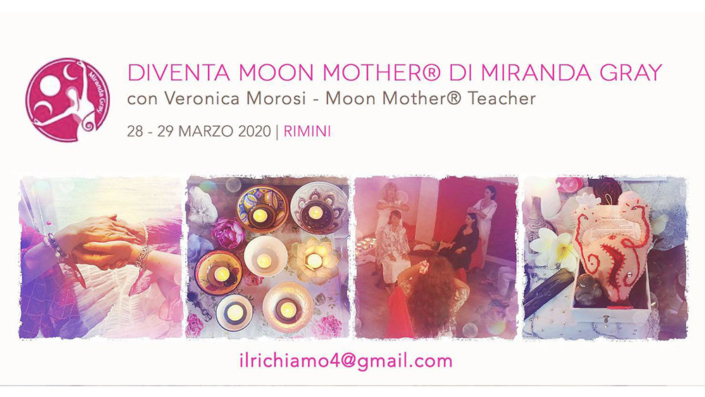 Workshop Moon Mother di Veronica Morosi con Associazione Il Richiamo